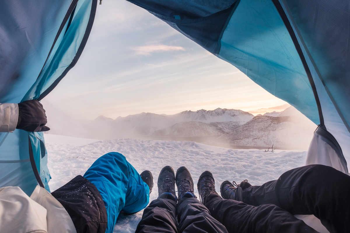 Fare campeggio è una figata